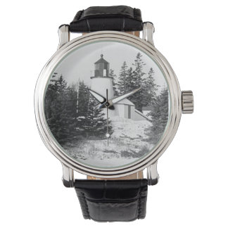 Burnt Island Lighthouse Wristwatches