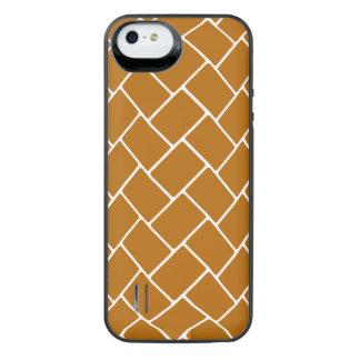Burnt Orange Basket Weave iPhone 6 Plus Case