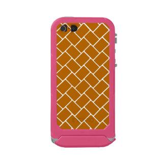Burnt Orange Basket Weave Incipio ATLAS ID™ iPhone 5 Case