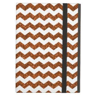 Burnt orange chevrons case for iPad air