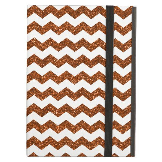 Burnt orange chevrons case for iPad air