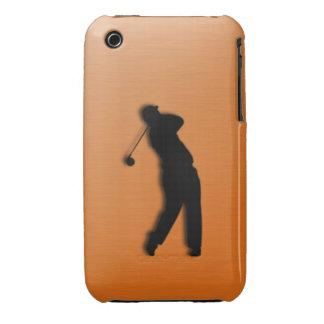 Burnt Orange Golf Sports iPhone 3G/3GS Case iPhone 3 Cases