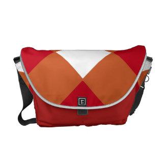Burnt Orange Maroon Bag Messenger Bags
