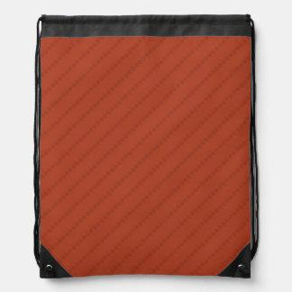 Burnt Orange Stripes, Striped Rucksack