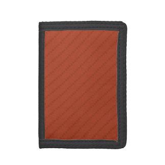 Burnt Orange Stripes, Striped Wallets