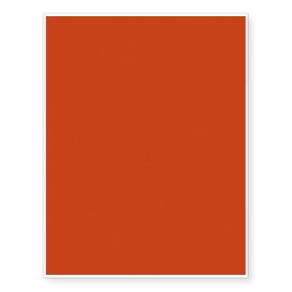 Burnt Orange Template