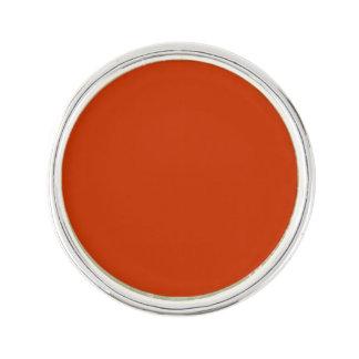 Burnt Orange Template Lapel Pin