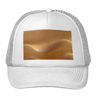 Burnt Orange Wave Dream Trucker Hats