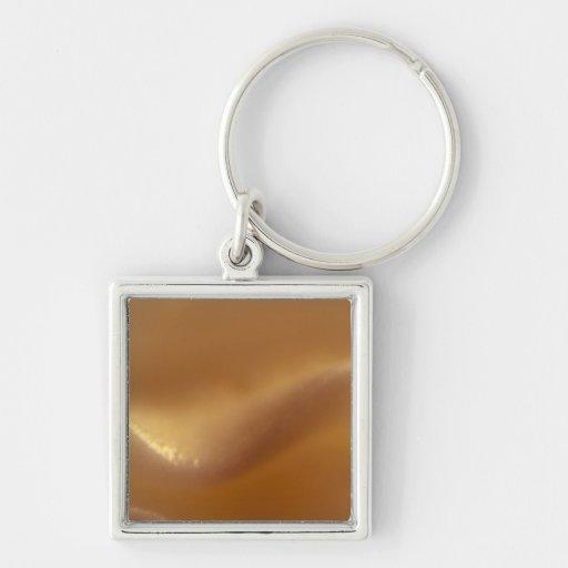 Burnt Orange Wave Dream Key Chains