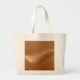Burnt Orange Wave Dream Jumbo Tote Bag