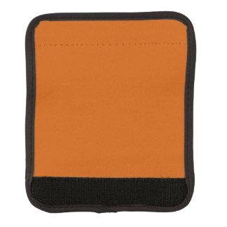 Burnt Orange Luggage Handle Wrap