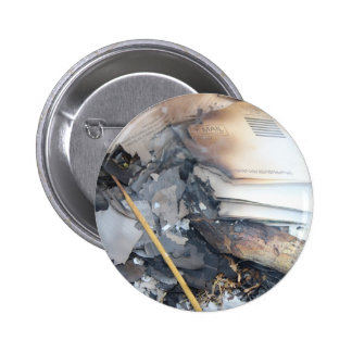 Burnt Papers Pinback Button