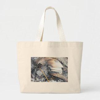 Burnt Papers Tote Bag