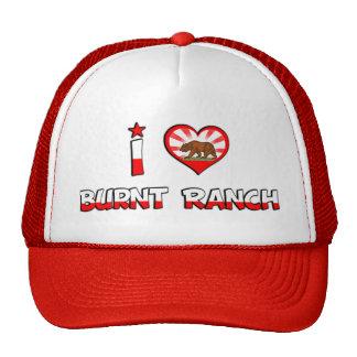 Burnt Ranch, CA Trucker Hat