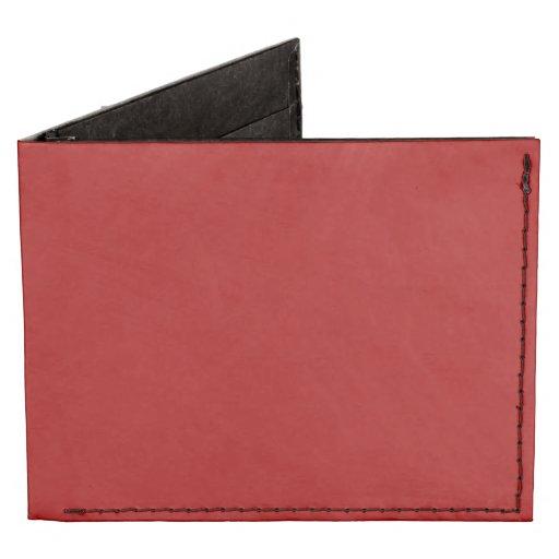 Burnt Red Tyvek® Billfold Wallet