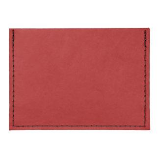 Burnt Red Tyvek® Card Case Wallet