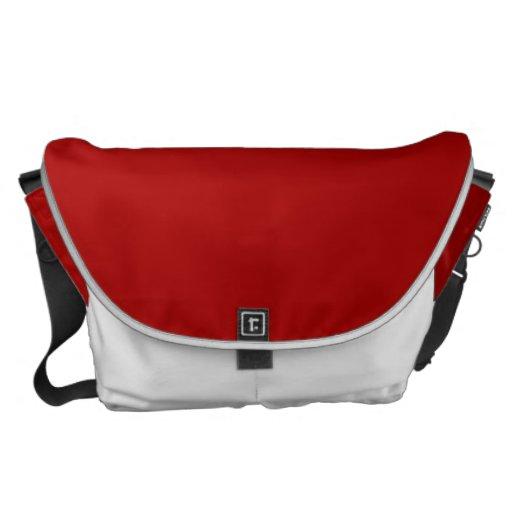 Burnt Red Messenger Bag