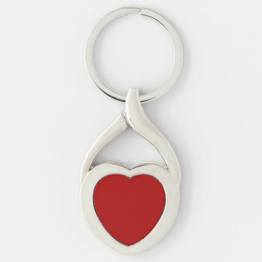 Burnt Red Keychains
