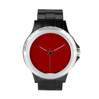 Burnt Red Wristwatches