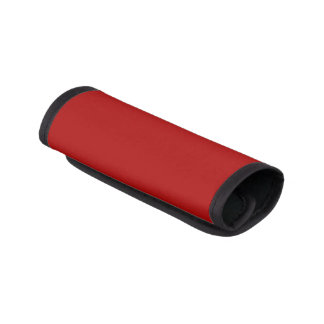 Burnt Red Luggage Handle Wrap