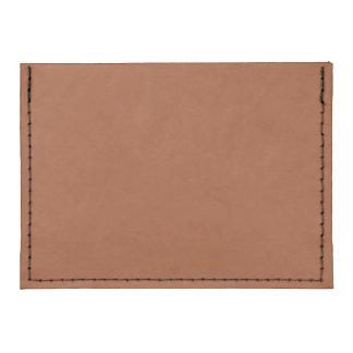 Burnt Sienna Tyvek® Card Case Wallet