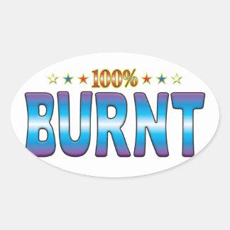 Burnt Star Tag v2 Stickers