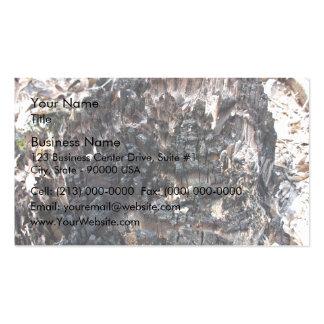 Burnt Tree Stump Business Cards
