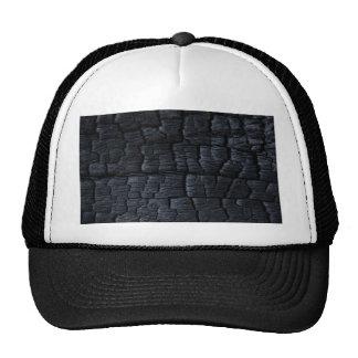 Burnt Wood Charcoal Mesh Hat