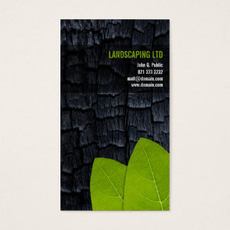 Burnt Wood Green Leaves Unique Landscaper
