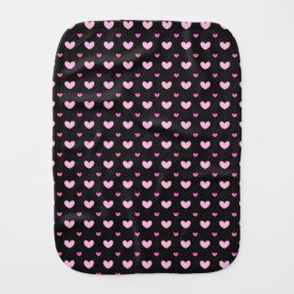 Burp Cloth Cute hearts