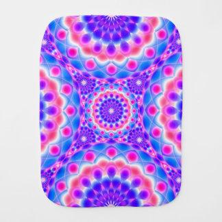 Burp Cloth Mandala Psychedelic Visions