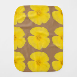 Burp Cloth - West Indian Holly