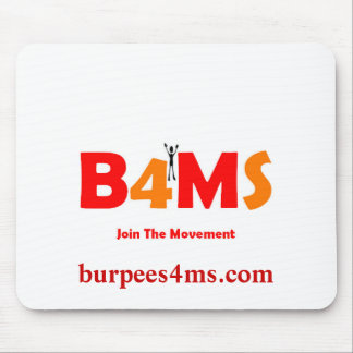 Burpees 4 MS Mousepads