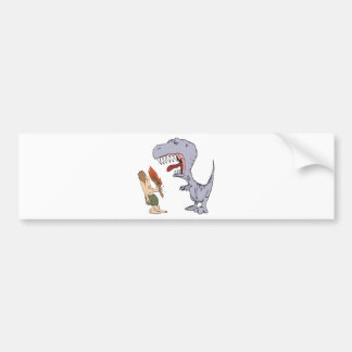 Burping Dinosaur Bumper Stickers