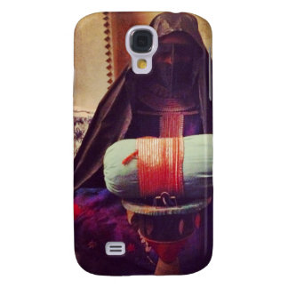 Burq3 Lady Galaxy S4 Case