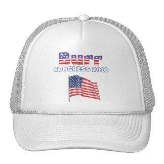 Burr Patriotic American Flag 2010 Elections Mesh Hats