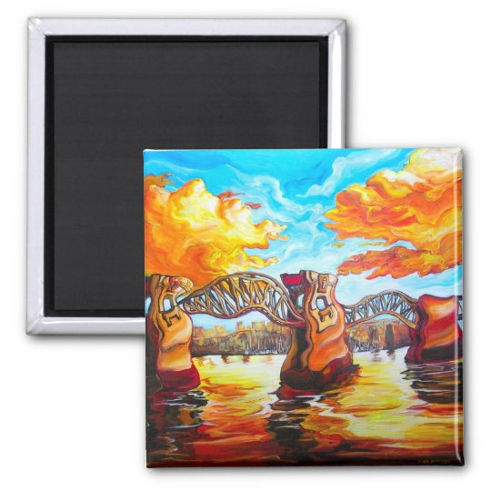 Burrard Sunset Magnet