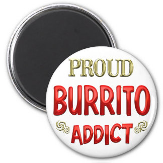 Burrito Addict Magnet