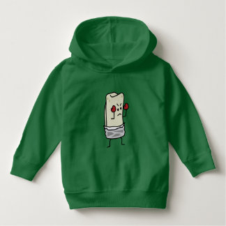 Burrito Boxer Fighter with Red Boxing Gloves Hoodie