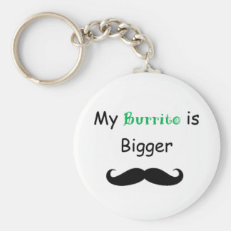 Burrito Key Ring