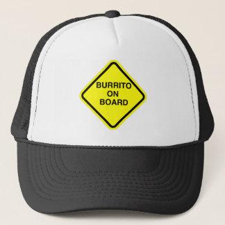 Burrito On Board Trucker Hat
