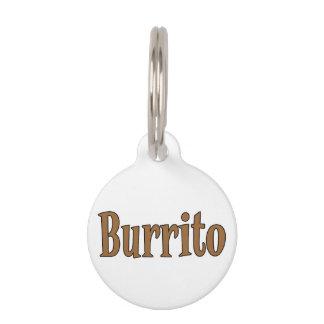 BURRITO PET ID TAG