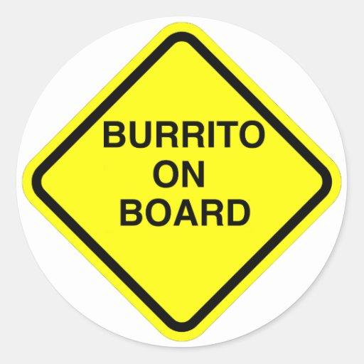 Burrito Sticker
