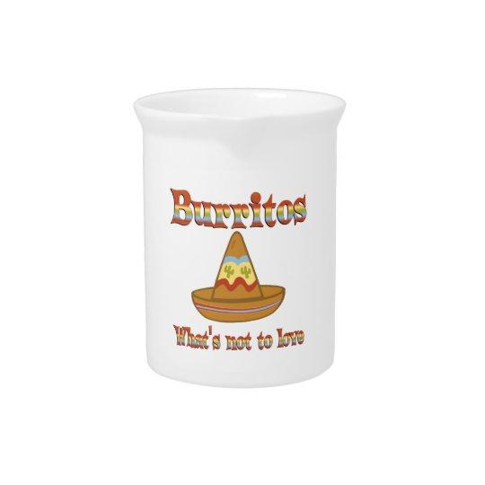 Burritos to Love Pitcher