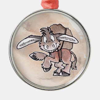 Burro Christmas Ornament
