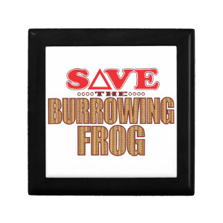 Burrowing Frog Save Gift Box