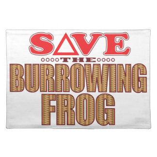 Burrowing Frog Save Placemat