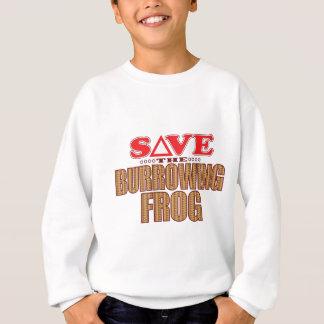 Burrowing Frog Save Sweatshirt