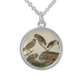 Burrowing, Night, Columbian, and Short-Eared Owls Custom Jewelry