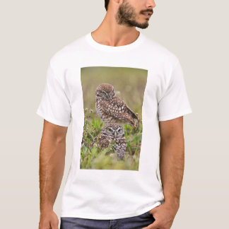 Burrowing Owl, Athene cunicularia, Cape Coral, T-Shirt